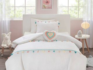 Mi Zone Kids Tessa Twin 3 Piece Tassel Comforter Set Bedding