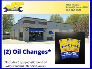 2  Oil Changes