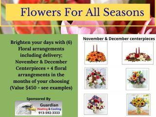 6  Floral Arrangements