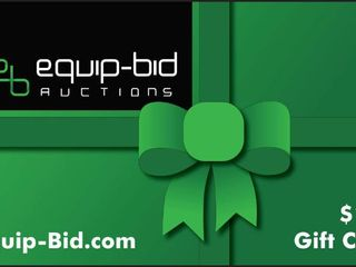 100 Gift Certificate to Equip Bid Auctions