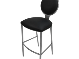Extra Tall Stainless Steel Bar Stool 35    535   35 inch Seat   35 inch Seat