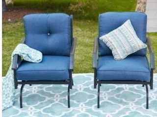 PATIO FESTIVAl Ar Rocking Motion Chair  2 Pack