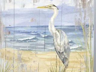 Tara Reed  Birds of the Coast Rustic II  Canvas Art