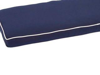 Kokomo Teak Hinged Sunlounger Cushion with Sunbrella Fabric  Retail 319 99