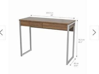 Porch   Den Skylar 2 drawer Desk  Retail 95 99