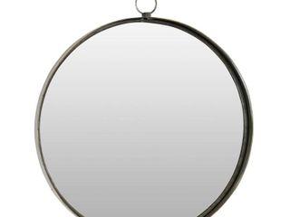 Bescott Suspended Round Wall Mirror   28 H x 24 W x 2 D   Retail 106 49