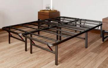 OSleep Platform 14 inch Heavy Duty Metal Bed Frame  Mattress Foundation  FUll Retail 91 49