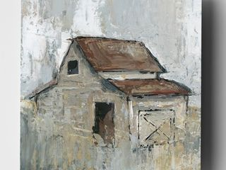 Barn at Midday   Premium Gallery Wrapped Canvas  Retail 171 99