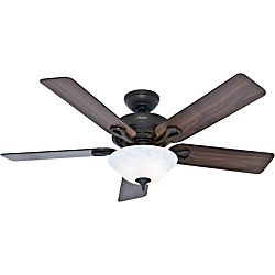 Hunter 52  Kensington Ceiling Fan with lED light Kit and Pull Chain   New Bronze Retail 134 49