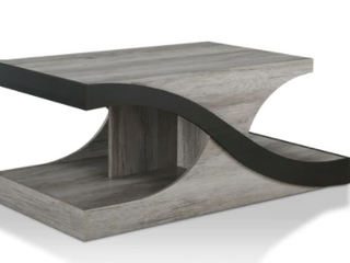 Furniture of America Villetta Modern Vintage Grey Coffee Table  Retail 321 49