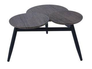 FurnitureR BIEl lMKZ Walnut Coffee Table