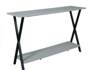 Carbon loft Eres Concrete Coated Top Media Console Table   Retail 157 99