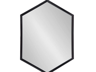 Kate and laurel laverty Framed Hexagon Wall Mirror  Retail 99 99