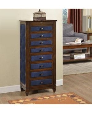 8 drawer Jewelry Armoire with Cushions Retail 575 99