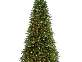 7 5ft National Christmas Tree Company Full Jersey Frasier Fir Artificial Christmas Tree 800ct Clear