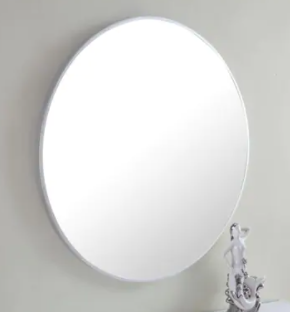 Strick   Bolton Prine 28 inch Metal Frame Round Mirror  Retail 137 99