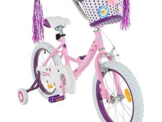 Vilano Girl s 14 inch Bike with Training Wheels and Basket Retail 89 99