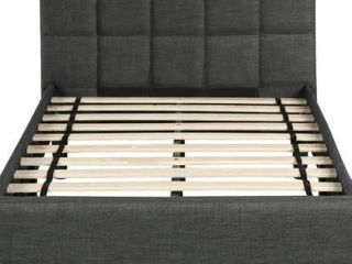 Upholstered Diamond Stitched Platform Full Size Bed Retail 338 49