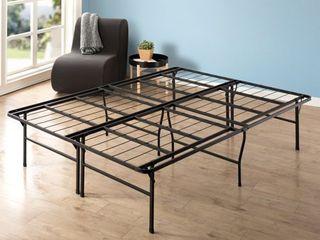 Twin Size 18 Inch Metal Platform Bed Frame   Crown Comfort  Retail 105 86