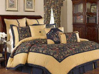 110 x96  Waverly Rhapsody 4 Piece Bedding Collection  Retail 249 99