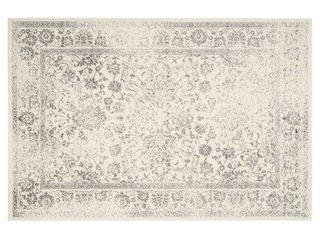 Reid Area Rug   Ivory Silver  8 x10    Safavieh
