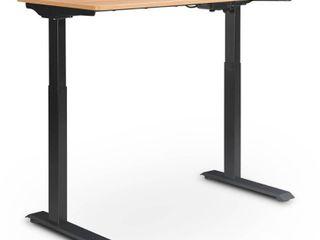 Creativity Electric Height Adjustable Standing Desk light Brown   Serta   Retail  349 99