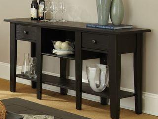 livingston Display 2 drawer Sofa Table by Greyson living  Retail 349 99
