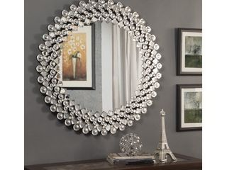 Best Quality Furniture Circular Crystal Wall Mirror  Retail 472 99