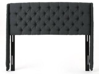 Perryman Adjustable Full  Queen Tufted Fabric Headboard by Christopher Knight Home Retail 205 99