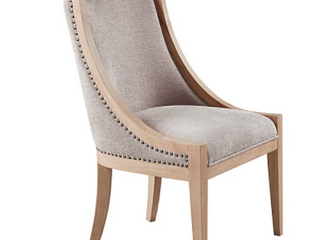 Martha Stewart Elmcrest linen Dining Chair Retail 276 99