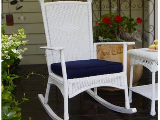 Tortuga Outdoor White Classic Rocking Chair Retail 251 49