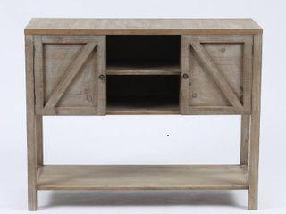 Wood Farmhouse Buffet Storage Cabinet Retail 181 49