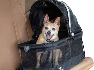 Pet Gear View 360 Pet Carrier   Car Seat for Small Dogs   Cats with Mesh Ventilation for Easy Viewing  Black  RETAIl  39 95
