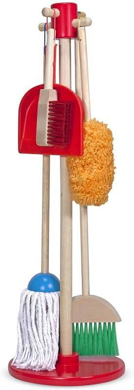 Melissa   Doug Dust  Sweep  Mop   RETAIl  29 99