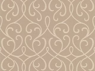 Decorline Dl30449 Alouette Beige Mod Swirl Wallpaper Wallpaper  RETAIl  33 00