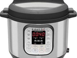 Instant Pot Duo 7 in 1 Electric Pressure Cooker  Sterilizer  Slow Cooker  Rice Cooker  Steamer  Saute  Yogurt Maker  and Warmer  6 Quart  14 One Touch Programs  RETAIl  99 95