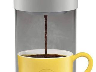 Keurig K Mini Plus Coffee Maker  Single Serve K Cup Pod Coffee Brewer  Comes With 6 to 12 Oz  Brew Size  K Cup Pod Storage  and Travel Mug Friendly  Studio Gray  RETAIl  99 99