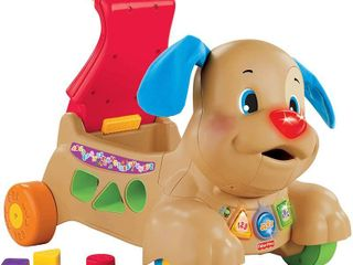 Fisher Price laugh   learn Stride to Ride Puppy  RETAIl  49 99