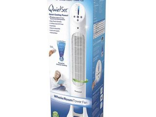 Honeywell QuietSet Whole Room Tower Fan   White  RETAIl  79 95