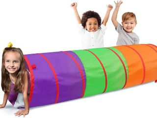 6 Foot Play Tunnel  Indoor Crawl Tube for Kids   Adventure Pop Up Toy Tent  RETAIl  19 99