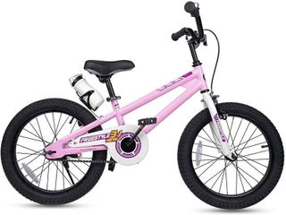 RoyalBaby Kids Freestyle Bicycle 18  Wheels with Kickstand  Pink  RETAIl  149 99