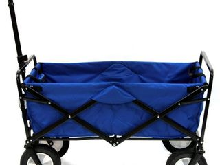 Mac Sports Collapsible Folding Outdoor Utility Wagon  Blue  RETAIl  99 99