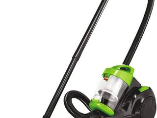 Bissell Zing Canister Vacuum  Green Bagless  RETAIl  59 99