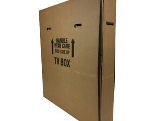 UBoxes TV MOVING BOX UP TO 70   RETAIl  33 30