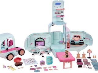 l O l  Surprise  2 in 1 Glamper Fashion Camper with 55  Surprises  RETAIl  99 99
