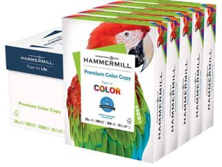 2 REAMS Hammermill Printer Paper  Premium Color 28 lb Copy Paper  8 5 x 11  RETAIl  21 20