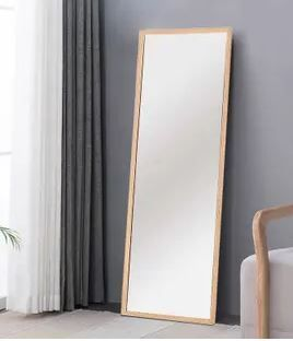 NeuTypeChic Solid Wood Full length Mirror with Stand 32  x 52