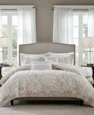 Harbor House Suzanna Ivory 3 Pc  Full Queen Comforter Mini Set Bedding