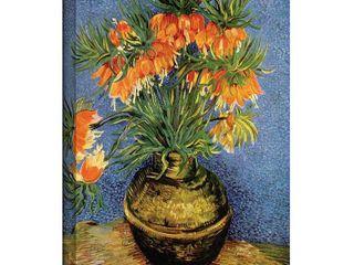 Vincent van Gogh  Fritillaries  Wrapped Canvas Art  Retail 103 10