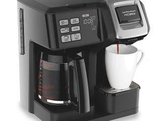 Hamilton Beach FlexBrew 2 Way Coffee Maker  Retail 99 00